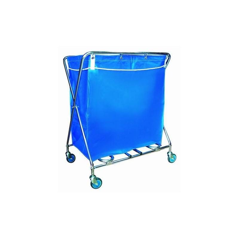Carro de recogida y transporte de ropa